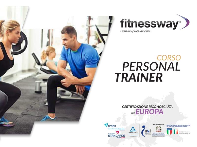 Corso Personal trainer 3 livello