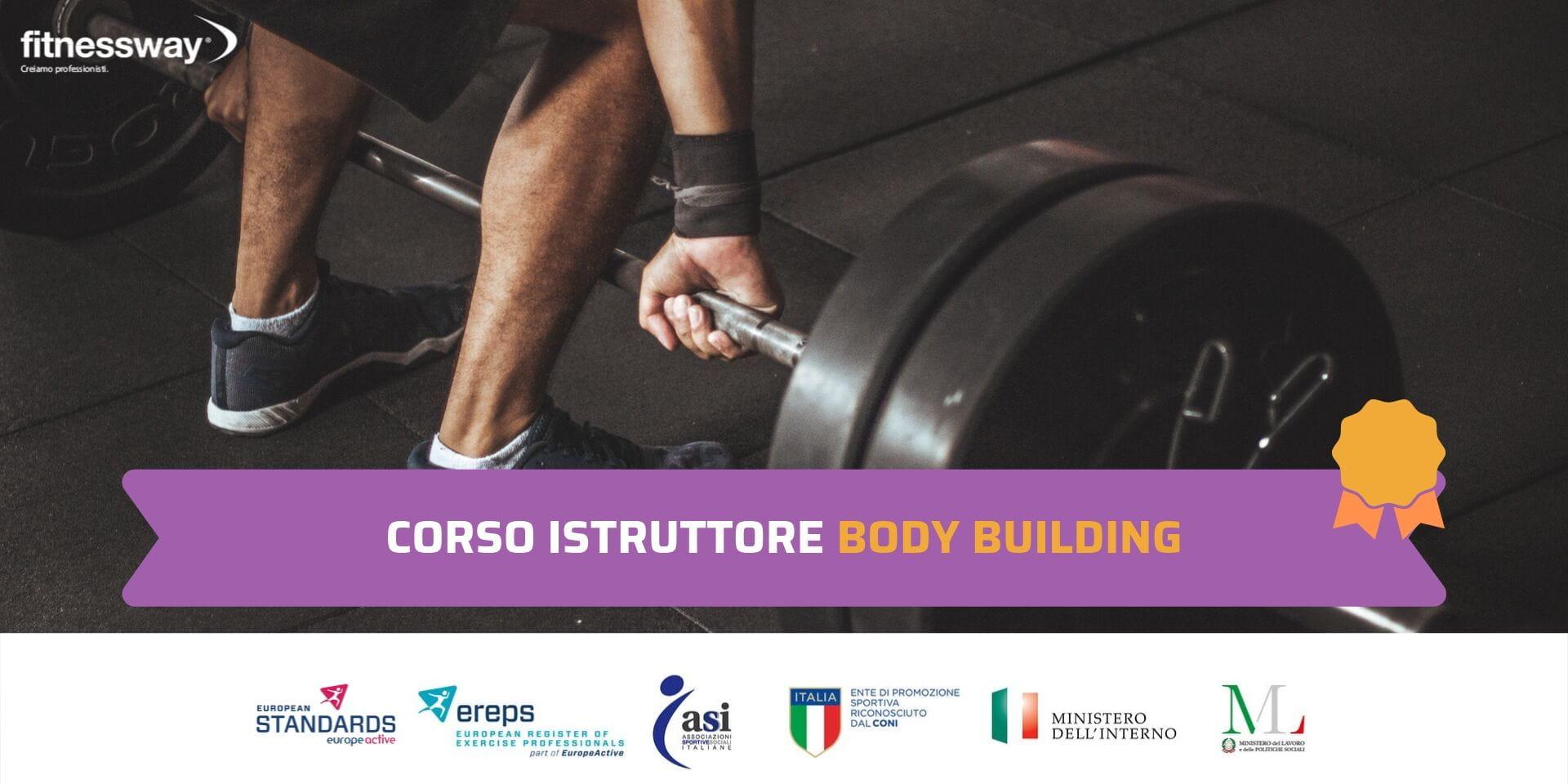 Corso Istruttore Body Building