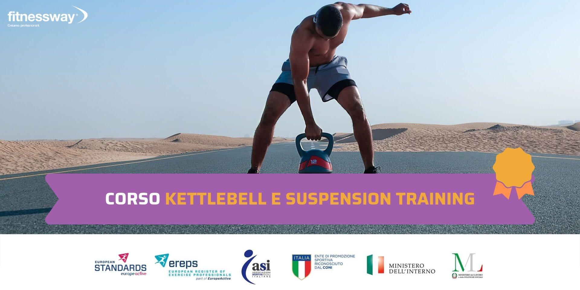 Corso Kettlebell e Suspension Training