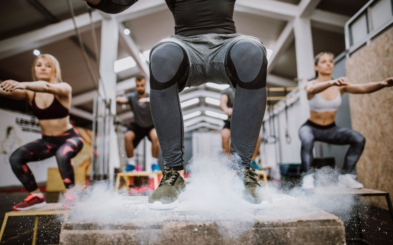box jump workout