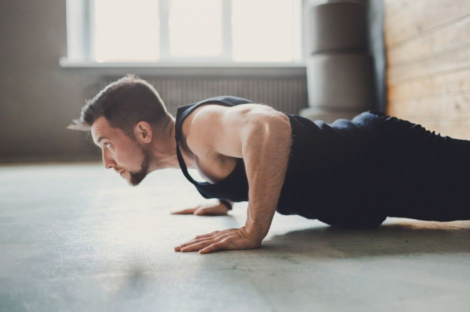 corpo libero mettere massa muscolare