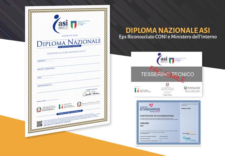 diploma nazionale asi