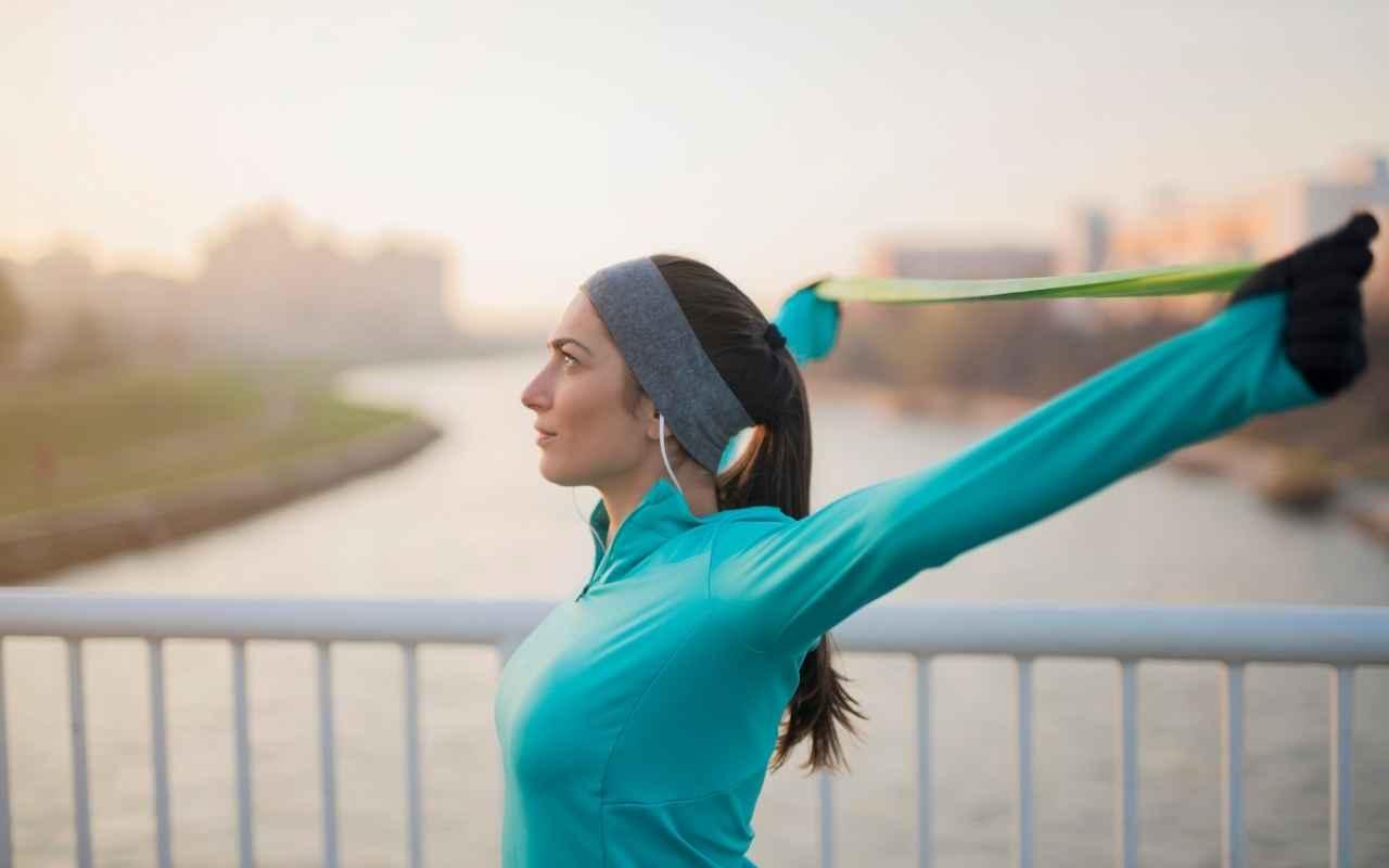 stretching posturale elastico